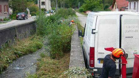 Image Entretien de la végétation à Froges